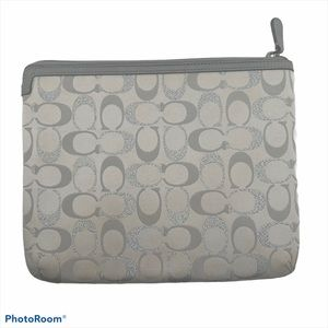 Coach IPad Tablet Case Cover Soft Side Signature